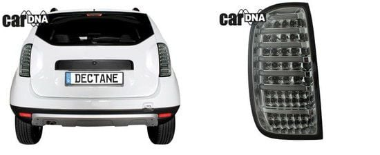 Duster - Completa LED Luces traseras transparentes