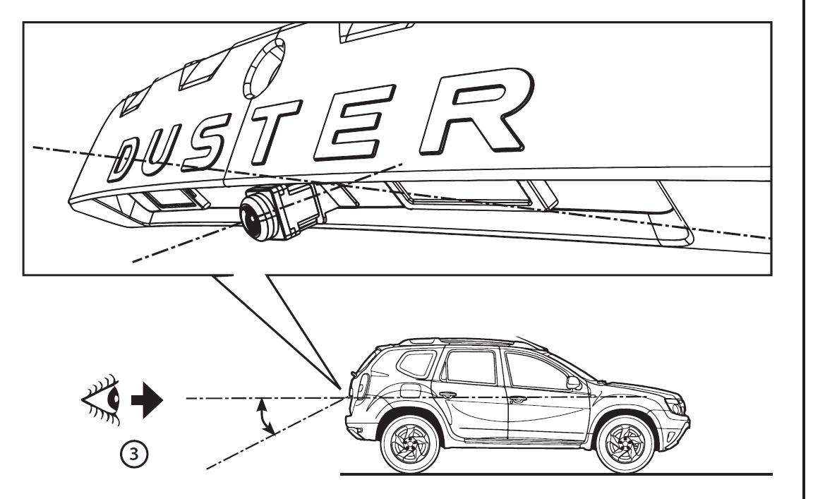 Duster (2010-2017) - Cámara de visión trasera (Dacia Original)