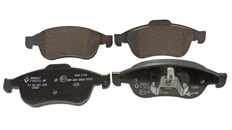 Pastillas de freno - delantero (automóvil sin ESP) DACIA DOKKER / DUSTER I / DUSTER II / LODGY (Dacia 410608481R)
