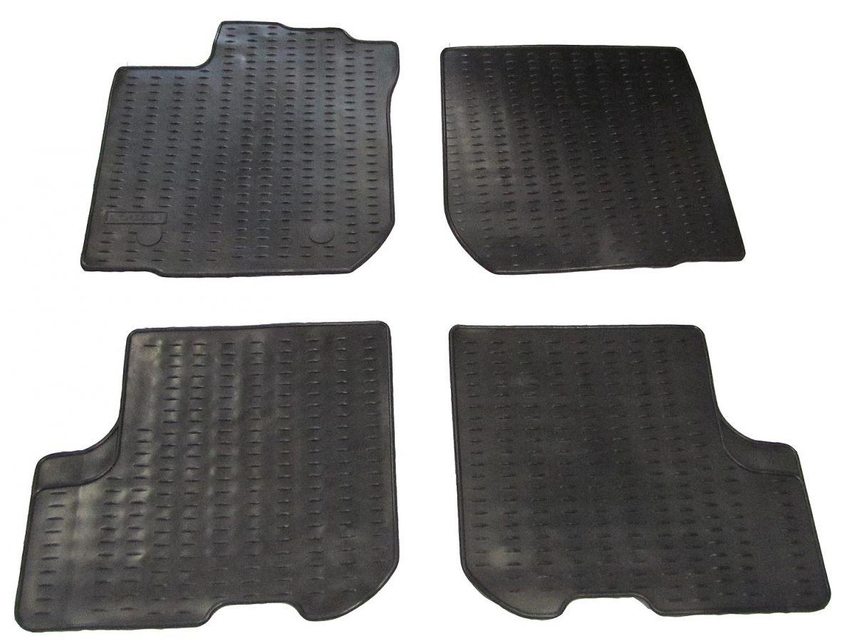 Logan II - Rubber floor mats (Dacia Original)