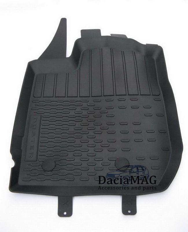 Duster II (2018-2021) - Esteras del piso de goma con bordes altos (Dacia Original)