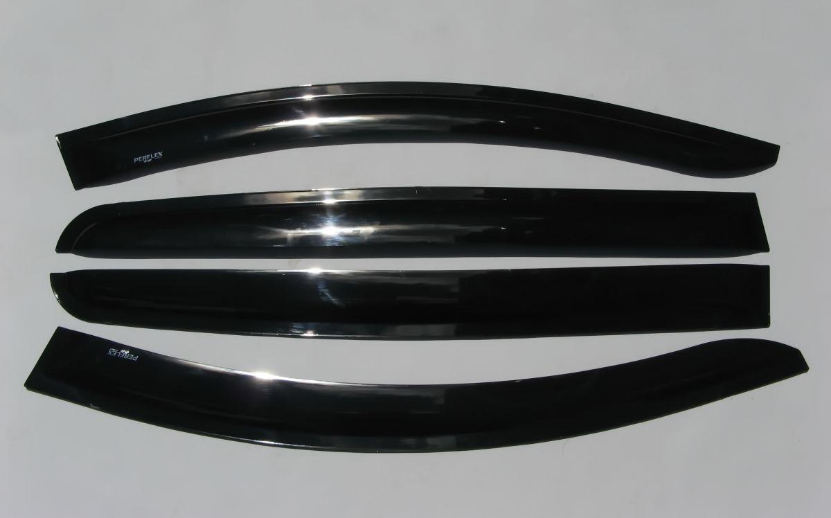 Sandero II (2012-presente) - Deflectores del viento conjunto delantero y trasero