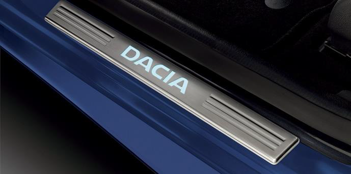 Dacia - Illuminated door sills (Dacia Original)