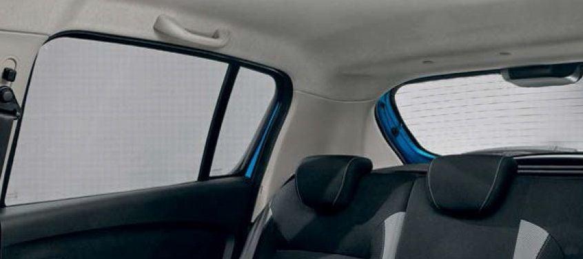 Sandero II (2012-presente) - Parasoles cortinillas (Dacia Original)