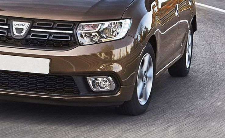 Sandero II (2017-) / Logan II - Fog light trim- left side (Dacia Original)