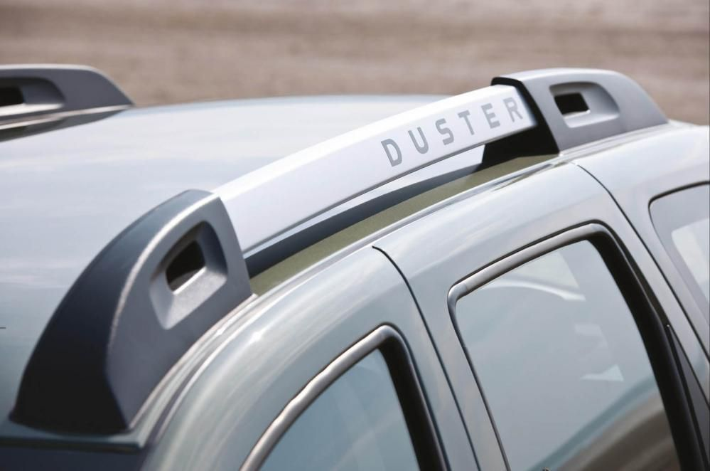 Duster - Roof bars Stickers