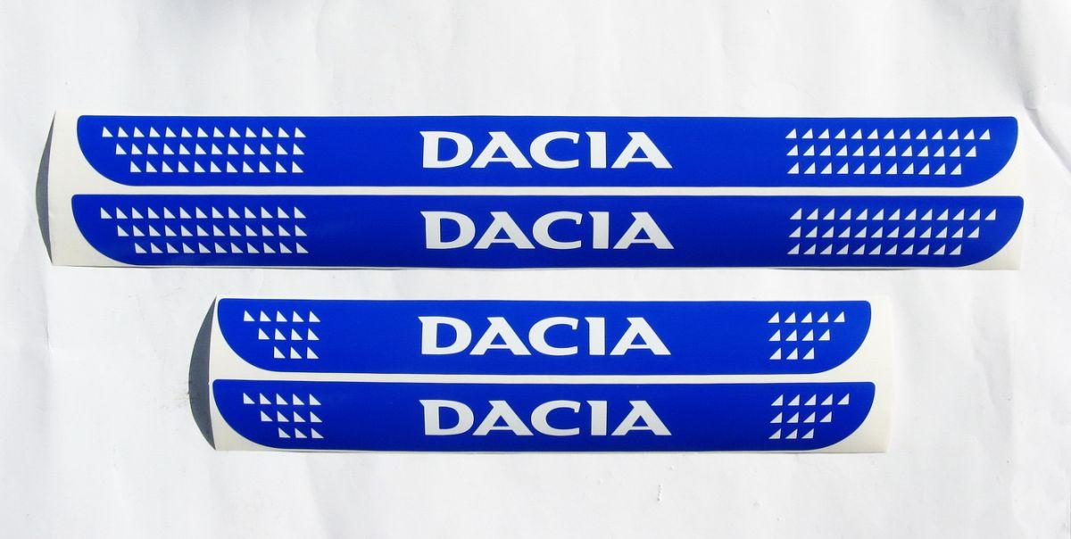 Dacia - Door sills stickers