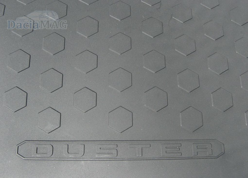 Duster 4x4 (2013-2017) - Boot protection tray (Dacia Original)