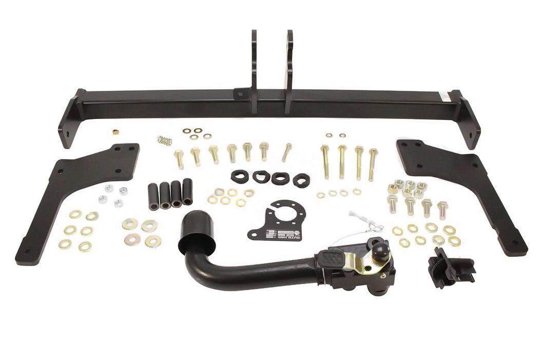 Duster II (2018-2021) - Towing set Premium (towing hook + tow bar + 7-pin wiring) Dacia Original