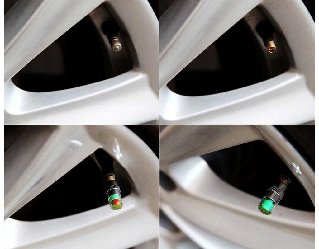 Dacia - Tapón indicador de presión de valvula neumático conjunto