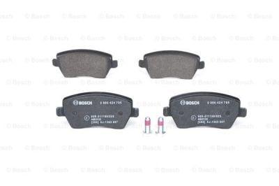 Plaquettes de frein - avant (voitures sans ESP) DACIA DUSTER I / DUSTER II / LODGY (BOSCH 0986494592)