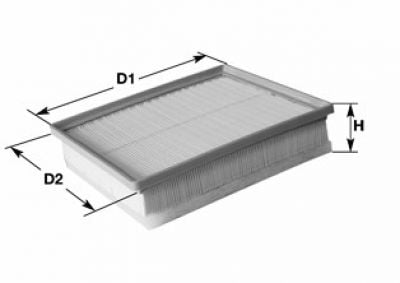 Air filter MA3186 (CLEAN FILTERS)