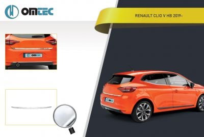 Renault Clio V - Seuil de hayon arrière chrome
