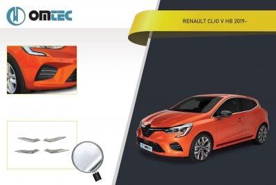 Renault Clio V - Feu antibrouillard avant Chrome ornement
