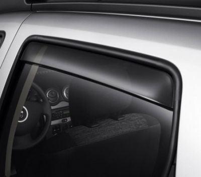 Duster (2010-2017) - Deflectores del viento conjunto delantero y trasero (Dacia Original)
