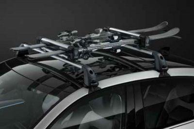 Renault Arkana  - QuickFix Barres de toit transversales en aluminium (Dacia Original)