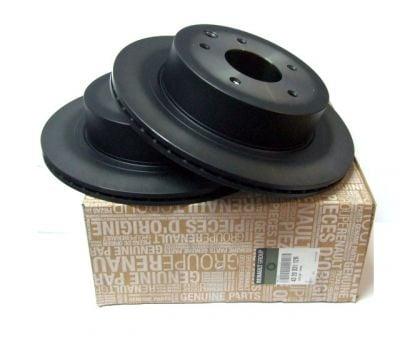 Dacia Duster I / Renault Koleos - Rear brake discs set (Dacia Original)