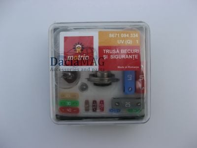 Duster - Bulb set H7 (Dacia Original)