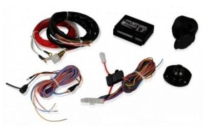 Duster II (2018-2021) - Kit de remorquage (crochet d'attelage + barre de remorquage + kit électrique) Hakpol