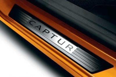 Renault Captur - Premium Protección umbrales de puerta- delantero (Renault Original)