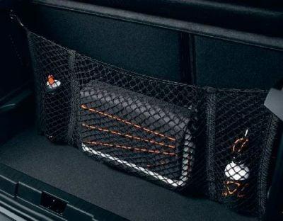 Renault Captur / Megane / Clio - Filet de rangement coffre- vertical (Renault Original)
