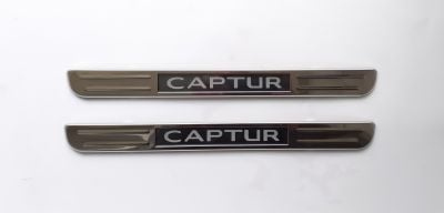 Renault Captur - LED Illuminated door sills - front