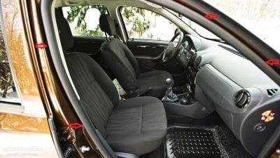 Duster (2010-2017) - Joints intérieurs de porte- avant droit (Dacia Original)