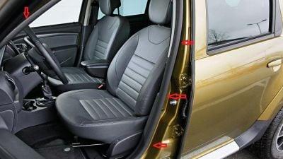 Duster (2010-2017) - Joints intérieurs de porte- avant gauche (Dacia Original)