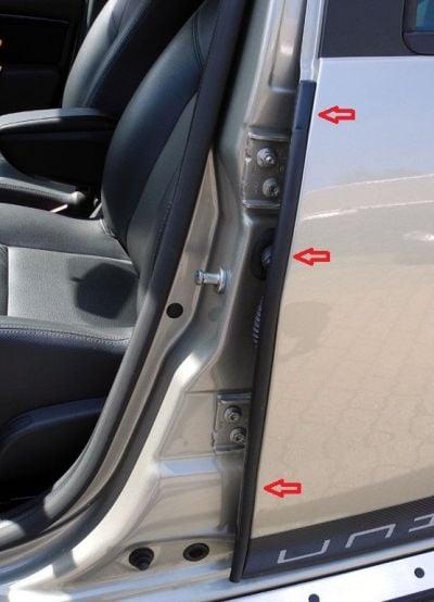 Duster (2010-2017) - Joints de porte (Dacia Original)