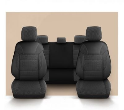 Sandero III / Sandero II - Seat covers Classic Chic - tailor made for Sandero