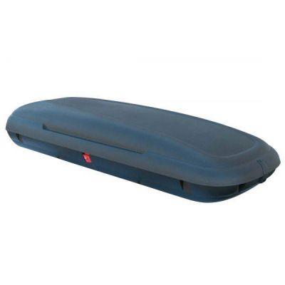 Coffre de toit avec aspect fibre de carbone 480L, Noir, 198x79x37