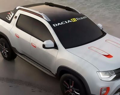 "Dacia - Atocollant ""F1 Team"""