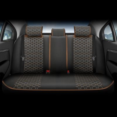 Duster II (2018-2021) - Limited Edition Seat covers Premium Leather - tailor made for Duster and compatible with side armrest
