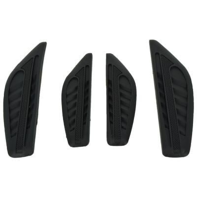 Door bumper strips for car side protection-Black