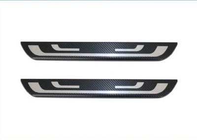 Duster - Premium door sills Carbon - front