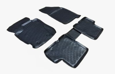 Duster II (2018-2021) 4x4 - Rubber floor mats with high edges