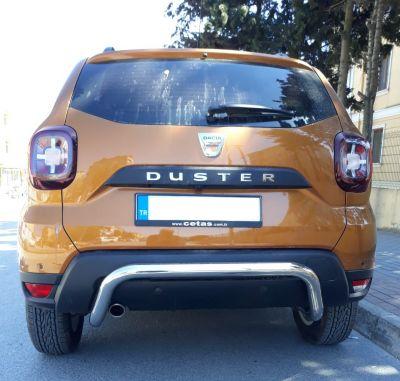 Duster II (2018-2021) - Barre de protection arrière- chrome