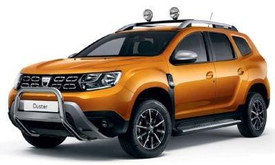Duster II (2018-2021) - Pare-buffles avant avec Logo (Dacia Original)