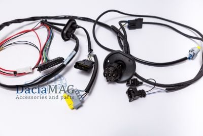 Duster II (2018-2021) - 7-pin Trailer wiring harness (Dacia Original)