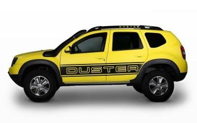 """Duster - Portes latérales autocollants """"Power"""" ensemble"""