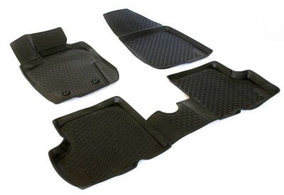 Duster 4x4 (2013-2017) - Rubber floor mats with high edges