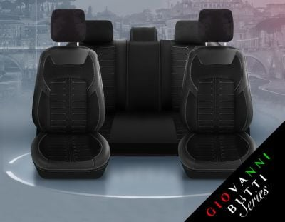 Duster II (2018-2021) - Seat covers Milano - tailor made for Duster and compatible with side armrest
