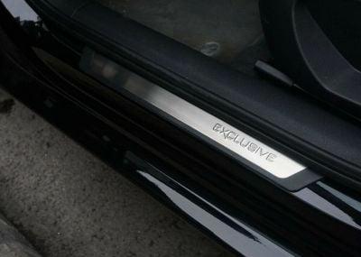 """Renault Captur - Door sills """"Exclusive"""" - front and rear"""