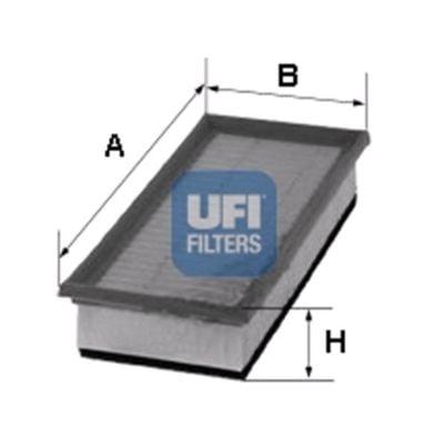 Air filter 30.688.00 (UFI)