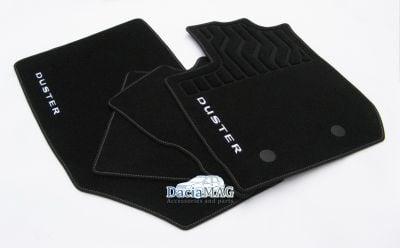 Duster II (2018-2021) - Textile floor mats Premium (Dacia Original)