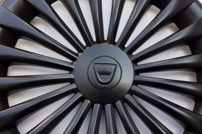 "Dacia - Enjoliveurs de roue Noka 16"" -ensemble de 4 pièces (Dacia Original)"