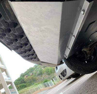 Duster II (2018-2021) - Protection métallique pare-chocs avant
