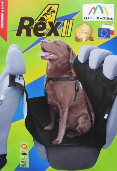 Funda de asiento para perros - ajustado para cinturones de seguridad