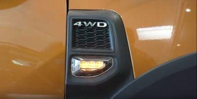 """Duster II (2018-2021) - LED side marker lights """"Chrom Black"""""""