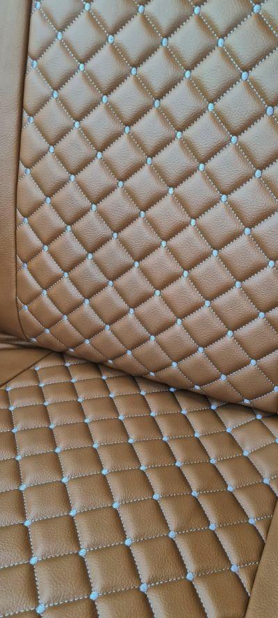 Duster II (2018-2021) - Housses de siège Style luxueux - Cuir Marron